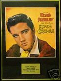 ELVIS PRESLEY - KING CREOLE   -  Framed LP Cover